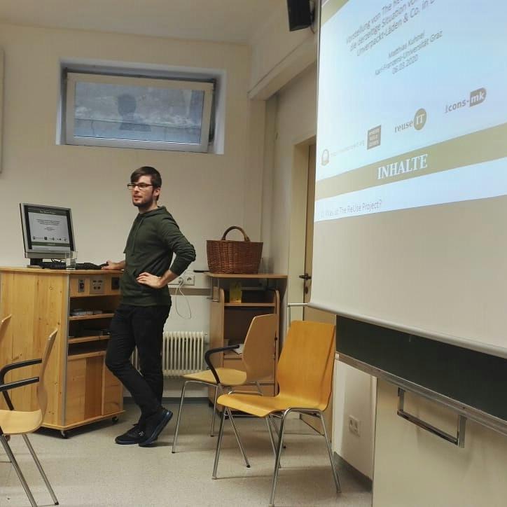 Matthias an der Uni Graz